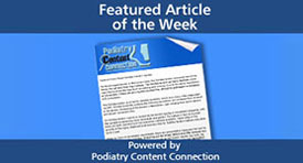 Featured Podiatry Blog Articles